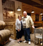 2016 - Karen and Don Boyd at Karl Strauss Brewing Company in Carlsbad, California