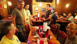February 2017 - Florida Aviation Photography convention attendees at the final dinner at Shorty's BBQ in Doral