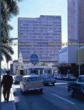 1961 - looking south on Biscayne Boulevard with the McAllister Hotel, Pan Am city ticket office and 1st National Bank of Miami