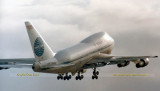 1986 - Pan Am B747-SP21 N533PA Clipper New Horizons Flight 50 taking off at Miami International Airport