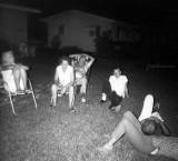 1960's - Clarice Gram Arnold, Dot & Bill Sweeney, Bill Sweeney Jr., and John Boyd with his head on Irene Anthonsen's lap