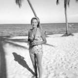 1960's - Irene Anthonsen, my father's long-time off and on girlfriend at Crandon Park