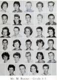 1962 - Grade 8-3 at Palm Springs Junior High - Mr. Baxter