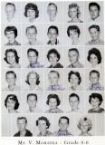 1962 - Grade 8-6 at Palm Springs Junior High - Mr. Montoya