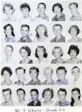 1962 - Grade 8-8 at Palm Springs Jr. High - Mr. Gharst