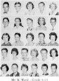 1962 - Grade 8-13 at Palm Springs Junior High - Mr. Ward