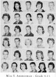 1962 - Grade 8-15 at Palm Springs Junior High - Miss Ammerman