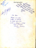 1962 - Autographs at back of Palm Springs Junior High yearbook