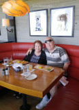 June 2016 - Karen and Don Boyd having a great late lunch at Sea Watch on the Ocean