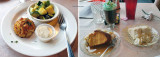 November 2015 - my orgasmic crabcake dinner and our desserts and my Irish coffee at the Kentmorr Restaurant & Crab House