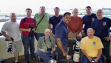 2016 - aviation photography friends on the balcony at the Miami Airport Hilton (names below)