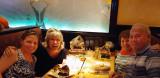 May 2016 - Karen, Brenda Reiter, Karen and Don Boyd at the Cheesecake Factory in Lone Tree, Colorado