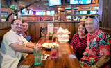 July 2017 - Jon and Donna with Karen and Don Boyd at the Miami Lakes Ale House