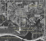 1968 - 20th Street Terminal area at Miami International Airport with identifying labels