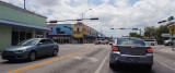 May 2016 - looking west on NW 36th Street at 17th Avenue in the heart of Allapattah