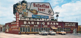 1960's - Bar-B-Q-Barn on South Dixie Highway, Miami