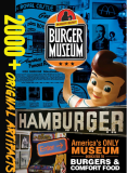 Burger Beast Museum Gallery - located at the entrance to the Magic City Casino in Miami