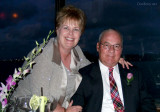 March 2007 - Karen and Don Boyd at little Karen's wedding reception at the Rusty Pelican on Rickenbacker Causeway