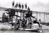 1920-1924 - bathing beauties posing on the Aeromarine Airways Model 75 (converted Navy Curtiss F5L) flying boat Buckeye