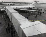 November 1963 - Eastern Air Lines gets their first jet bridge on Concourse 5 (now D) at Miami International Airport