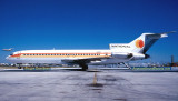 1977 - National Airlines B727-235 N4747 fresh out of the paint shop with the new white belly paint scheme