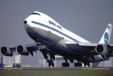 1979 - Pan Am Boeing 747 taking off from runway 27R at Miami International Airport