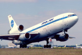 1981 - Pan Am DC10-10 N68NA Clipper Star Gazer taking off on runway 12 at Miami International Airport aviation airline photo
