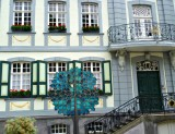 Monschau Street Decoration & Facade