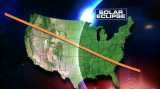 Total Solar Eclipse Map, Courtesy of CBS News (6572)