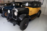 1930 GMC Model Six Yellow Taxi Cab, used in the 1946 James Stewart movie It's a Wonderful Life (1097)