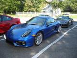 2015 Porsche Cayman GTS (981) in Sapphire Blue Metallic (3586)