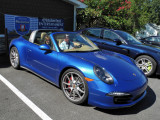 2015 Porsche 911 Targa 4S (991.1) in Sapphire Blue Metallic (3628)