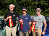 People's Choice: Bob's 1968 911L came in 2nd, Steve's 2010 911 GT3 came in 1st, Jim's 1977 911 Turbo Carrera came in 3rd (3668)