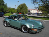 Oktoberfest Trifecta: Driving Tour, 1977 Porsche 911 Turbo Carrera (930) in Ice Green Metallic (3580)