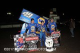 3-25-17 Stockton Dirt Track: World of Outlaws
