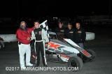 6-10-17 Petaluma Speedway: BCRA Midgets - Joe Hunt Wingless