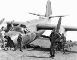 Martin B-26 Marauder... nose gear collapsed on landing, Australia 1940-1943