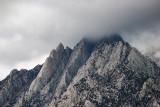 Eastern Sierra Peaks in the rain.