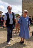 Noces d'Or de Anne et François dans le Gers, en 2017