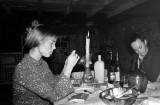 Une soirée chez Hervé et Renée à Nay septembre 1970
