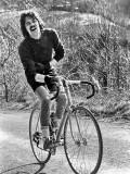 1977 : Port de Castet en vélo, l'hiver