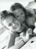 Soanne et Maika à la plage