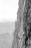 Face Est du Pene Sarrières 1965 : voie Chantal