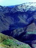 Village de Lescun vu du sommet du Billare