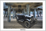 Ford 1920 4-dr Convertible DD 5-27-17 (2) F Under Pier Studio F.jpg
