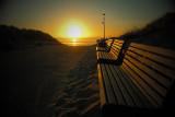 Zonsondergang bij Hollum (Ameland)