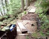 Upper Lake Creek Trail Before