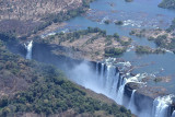 View of Vic Falls from Above