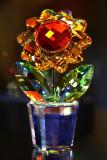 Swarovski Crystal Sunflower