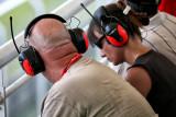 Spectators at Formula 1 Race